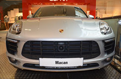 PRAGUE - APRIL 14: Porsche Macan S Royalty Free Stock Photography