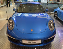 PRAGUE - APRIL 14: Porsche 911 Targa Stock Image