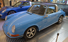 PRAGUE - APRIL 14: Porsche 911 Targa F series (1973) Royalty Free Stock Photography