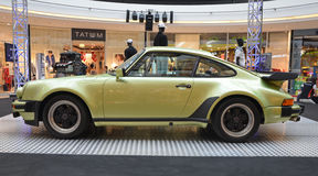 PRAGUE - APRIL 14: Porsche 930 Turbo (1974) Royalty Free Stock Images