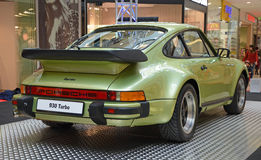 PRAGUE - APRIL 14: Porsche 930 Turbo (1974) Royalty Free Stock Images