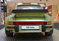 PRAGUE - APRIL 14: Porsche 930 Turbo (1974) Stock Image
