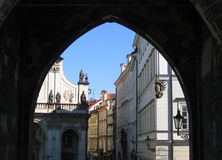 Prague Arch. View royalty free stock image