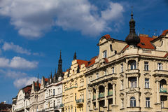 Prague architecture Stock Photos