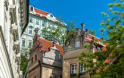 Prague architecture Stock Image