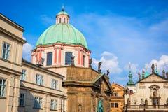 Prague architecture, Czech Republic Stock Image