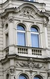 Prague architecture. Window Royalty Free Stock Image