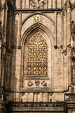 Prague architectures. An example of the beautiful architecture of Prague, Czech Stock Photography