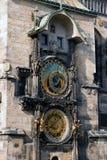 Prague arkitekturer. Arkivfoto