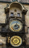 Prague astrological Clock Royalty Free Stock Photography