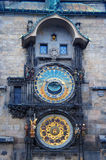 Prague astromomical klocka Royaltyfri Bild