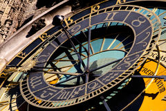 Prague. Astronomical clock Stock Photography