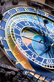 The Prague Astronomical Clock. Is a medieval astronomical clock located in Prague, Chzech Republic Stock Image