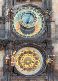 The Prague Astronomical Clock Royalty Free Stock Images
