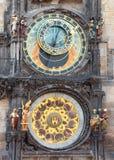 The Prague Astronomical Clock. Prague Astronomical Clock or Prague Orloj Royalty Free Stock Images