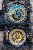Prague. The Astronomical Clock Royalty Free Stock Photos