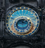 The Prague Astronomical Clock. Is a medieval astronomical clock located in Prague, Chzech Republic Royalty Free Stock Photo