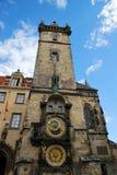 The Prague Astronomical Clock Stock Photography