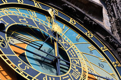 Prague Astronomical Clock Stock Photos