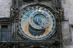The Prague Astronomical Clock. Or Prague Orloj. The clock was first installed in 1410, making it the third-oldest astronomical clock in the world and the only Stock Photography