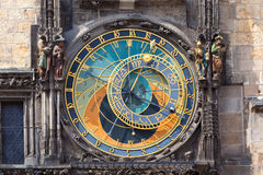 Prague Astronomical Clock. (Orloj) in the Old Town of Prague Royalty Free Stock Images