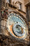 Prague astronomical clock Royalty Free Stock Photo