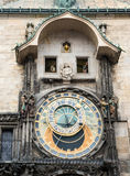 Prague Astronomical Clock Stock Images