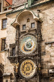 Prague astronomical clock Stock Photography
