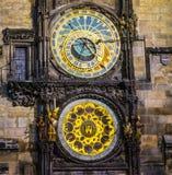 The Prague Astronomical Clock. Royalty Free Stock Photo