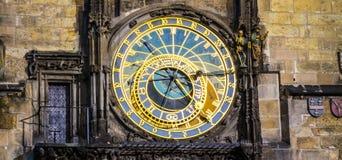 The Prague Astronomical Clock. Stock Image