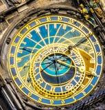 The Prague Astronomical Clock. Royalty Free Stock Photos