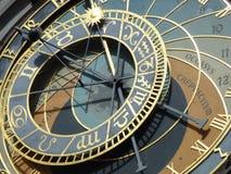 Prague Astronomical Clock. Prague, Czech Republic Stock Image