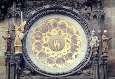 Prague Astronomical clock Royalty Free Stock Images