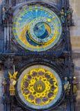 Prague astronomical clock. In Prague Czech Republic Stock Photography