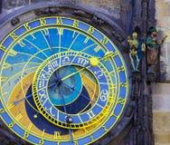 Prague astronomical clock. In Prague Czech Republic Royalty Free Stock Photos