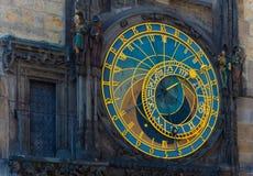 Prague astronomical clock. In Prague Czech Republic Royalty Free Stock Image