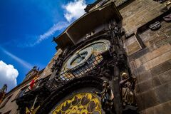 Prague Astronomical Clock, Czech Republic Royalty Free Stock Images