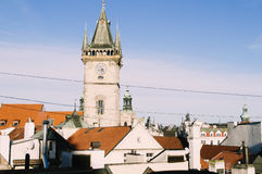 Prague Astronomical Clock. Prague, Czech Republic - nowember 2016: View of Famous very old Prague Astronomical Clock Stock Images