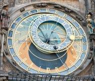 The Prague astronomical clock, Czech Republic Royalty Free Stock Photos