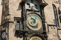 The Prague astronomical clock, Czech Republic Royalty Free Stock Image