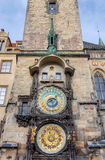 Prague astronomical clock, Czech Republic Stock Photography