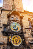Prague, astronomical clock royalty free stock photo