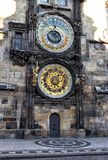 Prague astronomical clock. The Prague astronomical clock is a medieval astronomical clock located in Prague, the capital of the Czech Republic. The clock was Royalty Free Stock Images
