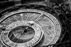 Prague Astronomical Clock in the Old Town Royalty Free Stock Photos