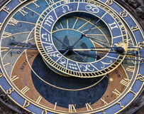 Prague. Astronomical Clock in Old Town, Czech Republic.  Stock Image