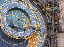 Prague. Astronomical Clock in Old Town, Czech Republic. Prague. Astronomical Clock in Old Town, Czech Republic Royalty Free Stock Photo