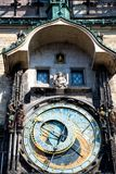 Prague Astronomical Clock in the Old Town of Prague Stock Image