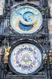 Prague Astronomical Clock in the Old Town of Prague Royalty Free Stock Images