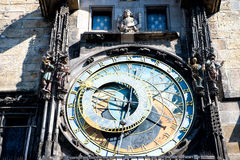 Prague Astronomical Clock in the Old Town of Prague Royalty Free Stock Photography