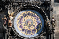 Prague Astronomical Clock in the Old Town of Prague Stock Photography